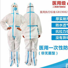 Disposable Medical Isolation Coveralls Protecting Clothing Anti-Virus dust proof
