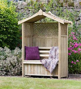 Dorset Storage Garden Arbour - Zest Products / Free Delivery 25374