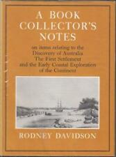 A Book Collector's Notes by Rodney Davidson (Hardcover, 1970)