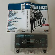 THE SMALL FACES IT'S ALL OR NOTHING CASSETTE TAPE COMPILATION SPECTRUM DECCA '93