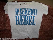 FRZ Weekend Rebel Tshirt Size XS Women's NEW FREE USA SHIPPING