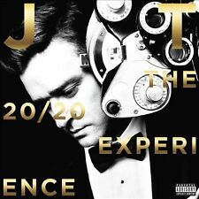 Justin Timberlake 20 20 Experience - 2 Of 2 w/download vinyl LP NEW sealed