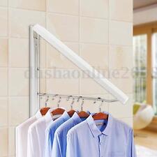 Cintres Acier Crochet Pantalon Vêtement Support Rangement Rétractable Placard