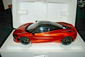 1:18 Autoart Mclaren 720s Azores/ Metallic Orange Brand new