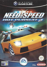 NEED FOR SPEED HOT PURSUIT 2 for Nintendo Gamecube - PAL