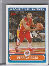 2007-08 TOPPS #DR DERRICK ROSE MCDONALD'S ALL AMERICAN 1167