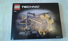 LEGO Technic 42055 Escavatore Ruota a tazze manuale di istruzioni & Adesivo SIGILLATO