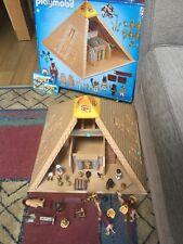 Playmobil 4240 egyptien pyramide Playset-dans boîte d'origine avec instructions