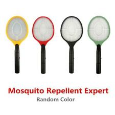 Electric Fly Swatter Handheld Electronic Swat Bug Mosquito Insect Zapper Killer