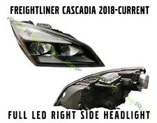 Freightliner Cascadia 2018 2019 2020 New Style Full Led Headlight Passenger Side