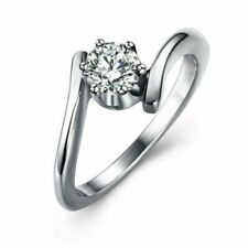 Silver Coloured Solitaire Rings for Men