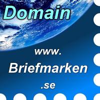 www.briefmarken.se - Domain / Internet-Adresse / Web-Adresse / URL