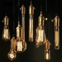Vintage Edison Electric Light Antique Style Filament Lamp Bulb E27/B22 LightBulb