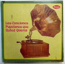 Las CANCIONES POPULARES QUE USTED QUERIA 5-LP BOX Colombia Various Artists