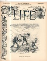 1899 Life March 9 - Chicago beef scandal; Philippines want whites over blacks;