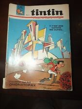 le journal de TINTIN N°928 de 1966 - ONOMATOPAX