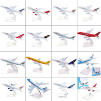 1:400 Scale Concorde Plane Model Airplane Diecast Aircraft Aeroplane Toys Gifts