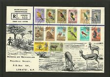 1961  Bechuanaland  1st day cover.
