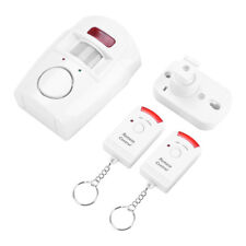 Wireless Infrared Motion Sensor Detector Alarm Remote Home Security System GL