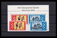 Bund BRD 1976 Michel Block 12 XXI Olympische Spiele + Einzelmarken postfrisch**