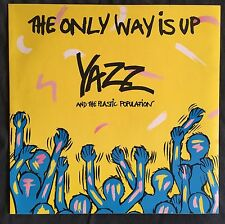 """Yazz And The Plastic Population 12"""" The Only Way Is Up - England (EX+/M)"""