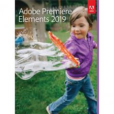 Adobe Premiere Elements 2019 1 PC | or Mac Full Version Download 1 user UK EU