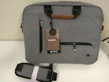 """PKG Messenger Laptop Case Light gray Fits most laptops with up to a 16"""" display"""