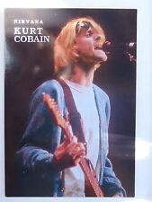 CARTE POSTALE Nirvana Kurt Cobain