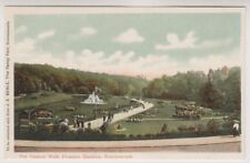 Dorset postcard - The Central Walk, Pleasure Gardens, Bournemouth (A1178)