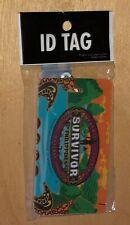 Survivor Philippines Luggage ID Tag 2012 CBS TV Show Memorabilia New Sealed Rare