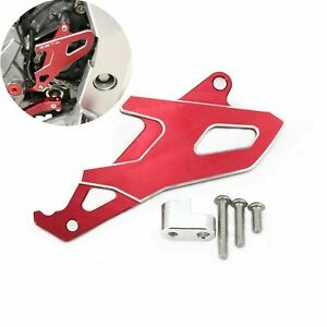For Honda CRF250L 2013-2019 CNC Front Sprocket Cover Protector Dirt Bike Red