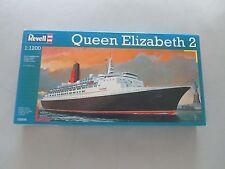 Revell 05806 1:1200 QUEEN ELIZABETH 2 Ocean Liner Ship Model Kit, New