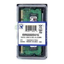 Mémoires RAM Kingston pour SO DIMM 200 broches, 1 Go par module