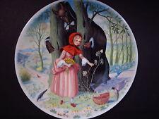 Limoges 1984 LE PETIT CHAPERON ROUGE Little Red Riding Hood Ltd Ed Plate MIB