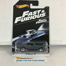 '70 Chevelle SS * Dark Grey * Fast & Furious Hot Wheels * ZB13
