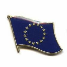 European Union Country Flag Bike Motorcycle Hat Cap lapel Pin