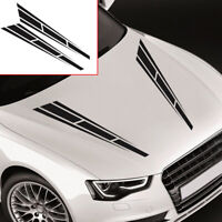 Universal Racing Stripes Car Sticker Car Front Hood Decal Car Accessories Top