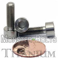 5mm x 0.80 x 16mm - TITANIUM SOCKET HEAD CAP Screw - DIN 912 Grade 5 Ti M5 Hex