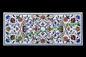 Marble Kitchen Table Top Handmade Inlay Art Dining Table Top Royal Pattern 57x24