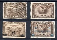 Canada 1928-1932 mint and used Airmail collection WS18230