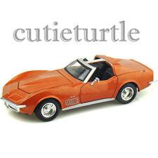 Maisto 1970 Chevrolet Corvette Stingray Open Top 1:24 Diecast Model 34202 Bronze