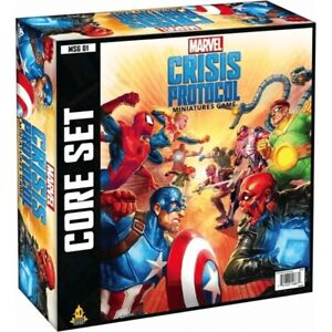 Marvel Crisis Protocol Core Set Miniatures Game NEW & COMPLETE BUT UNSEALED