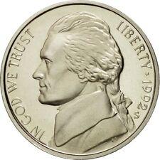 [#430811] Monnaie, États-Unis, Jefferson Nickel, 5 Cents, 1992, U.S. Mint, San