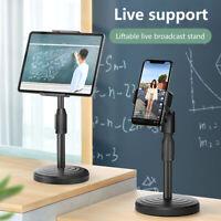 Adjustable Tripod Desktop Stand Desk Holders Selfie Stick Mount For Cell Phones