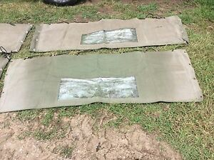 Toyota Lanscruiser canvas canopy suits 75 series Ute        8218