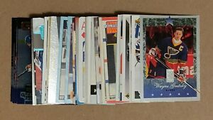 Wayne Gretzky lot of 54 different cards
