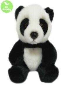PANDA 18CM eco friendly plush softtoy 100% recycled polyester fibre kid cuddly