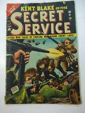 KENT BLAKE OF THE SECRET SEVICE  #7  (1952)  2.0 GD