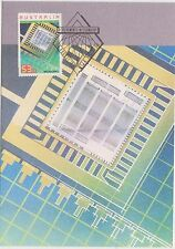 (H2-112) 1987 AU 53c Postcard TECHNOLOGY (B)