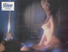 SEXY EVA LYBERTEN PATRICIA UN VOYAGE POUR L'AMOUR 1981 VINTAGE LOBBY CARD